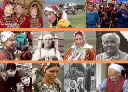 """Viron kansallismuseon tuottama kiertonäyttely """"Finno-Ugric and Samoyed Peoples"""