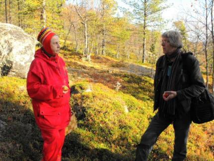 Leudd-dokumenttielokuvan tekoa, kuva Raimo Salo